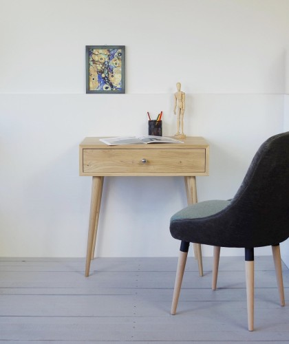 Solid Oak dressing table, NO-06-EH