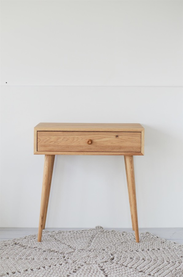 Solid Oak dressing table, NO-06-EN