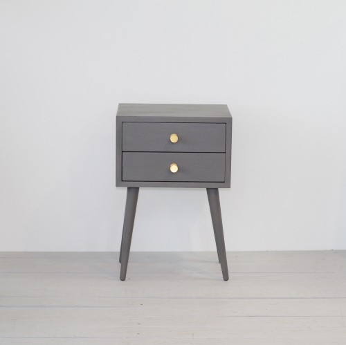 Bedside Table with drawer, NORD-04-LAVA