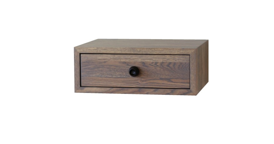 Floating Nightstand with Drawer, NORD-07GR