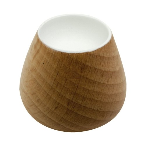 Knob Flower Bud-25524 Oak/white