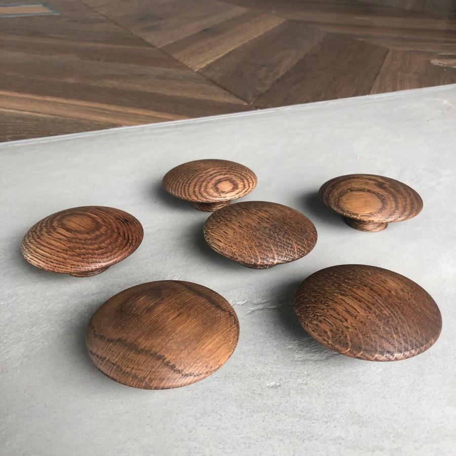 Handle Mushroom 255620-11 smoked oak