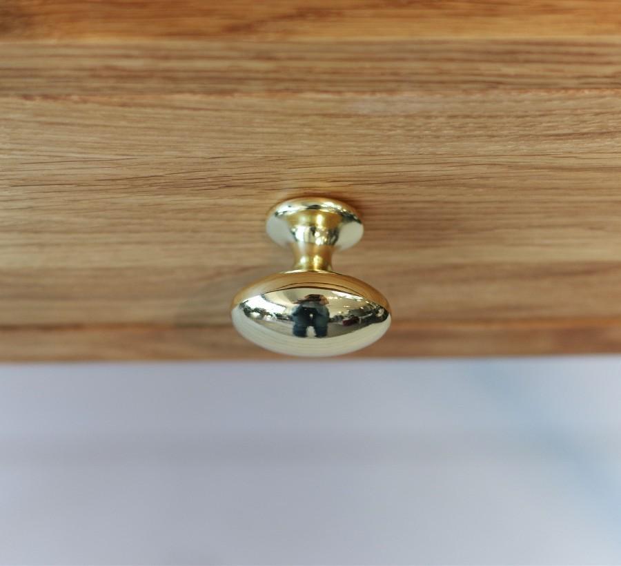 Handle Plum 39033-11 brass