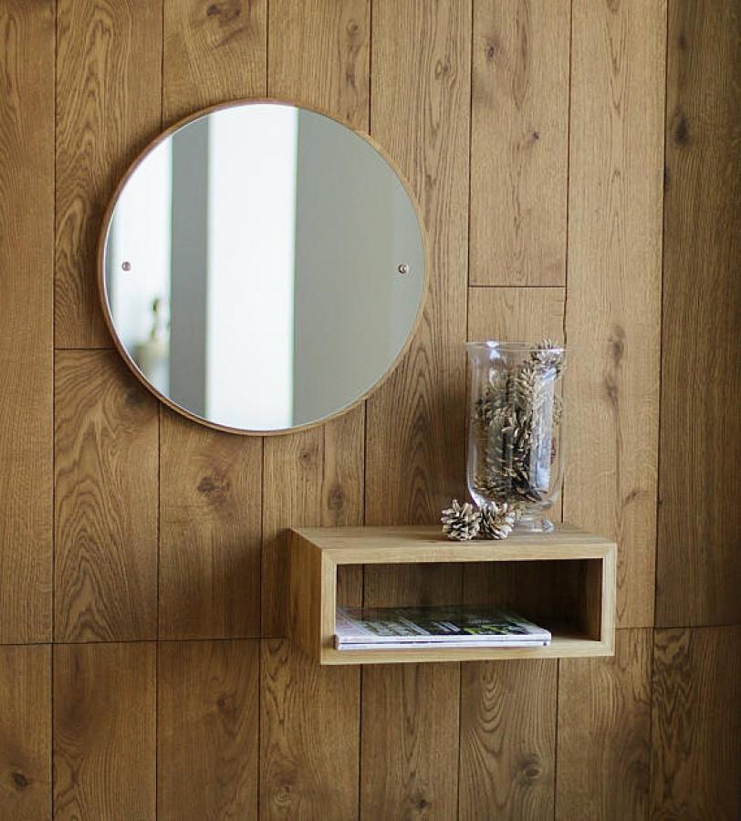 Solid Oak Shelf, SMOKED