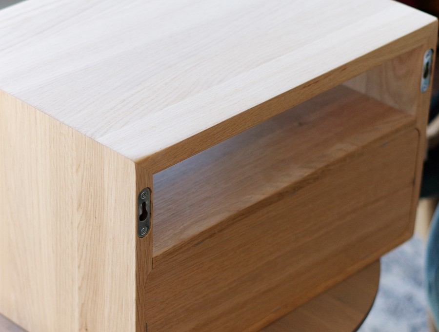 Solid oak shelf