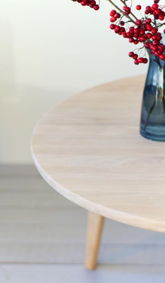 Oak coffee table Viken 80