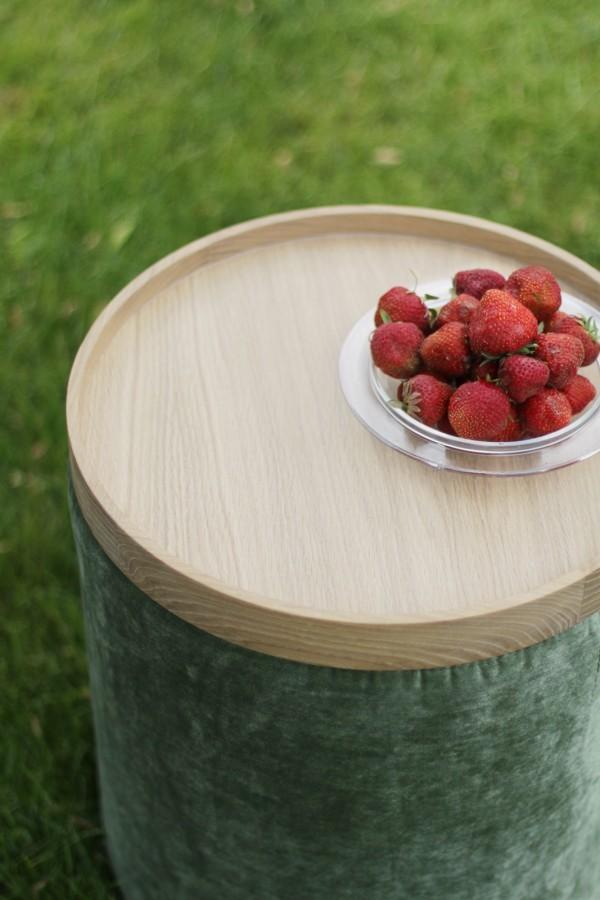 Solid oak tray W.OILED