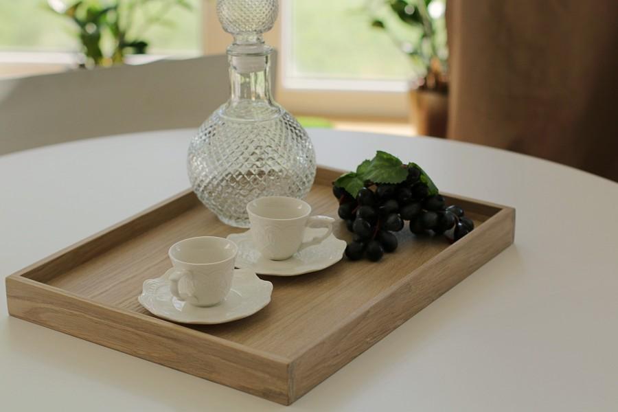 Oak tray SQUARE