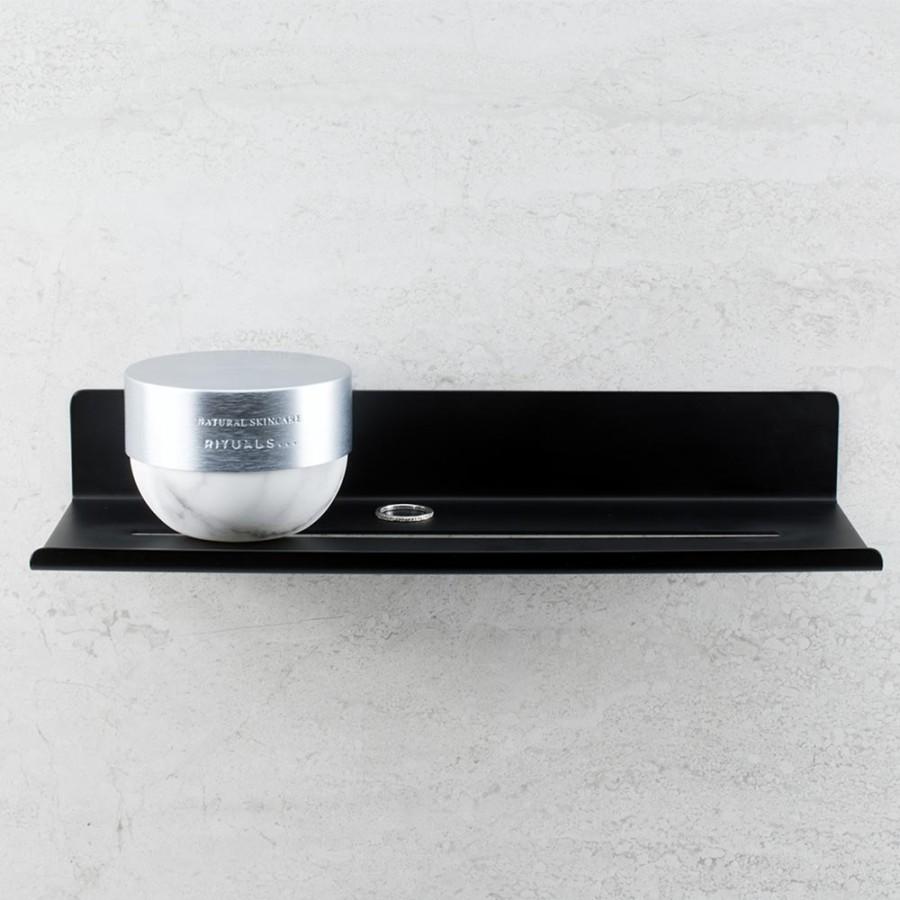 Base HYLLA 606062-41 black shelf