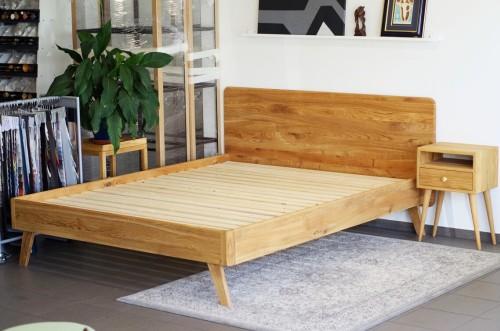 BASIC SOLID OAK BED FRAME