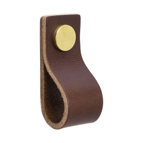 Handle LOOP 333131-11 leather brown