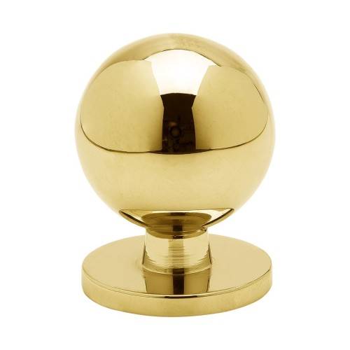 Knob Soliden-339431-11 polished brass