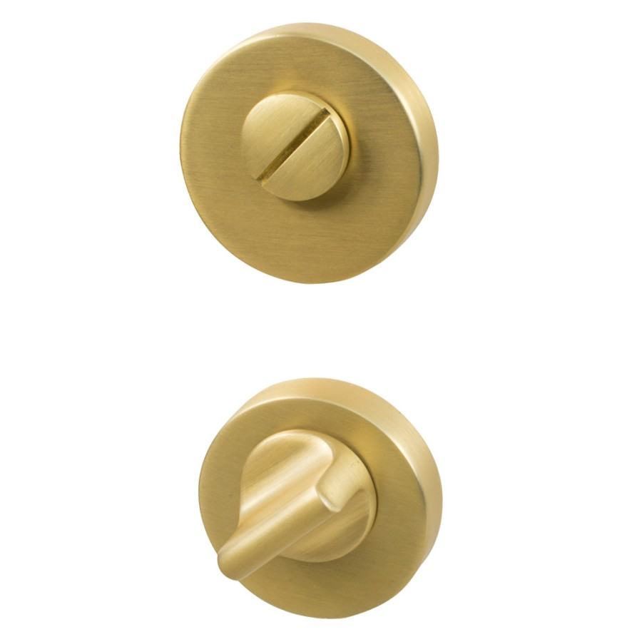 Helix 200R WC Lock 751112-41E brushed brass