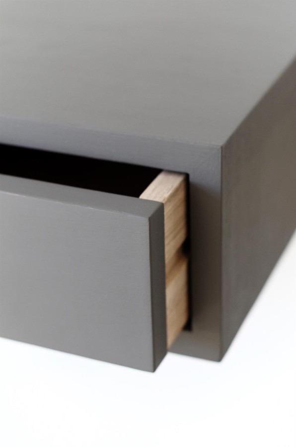 Floating Nightstand with Drawer, NORD-07EP