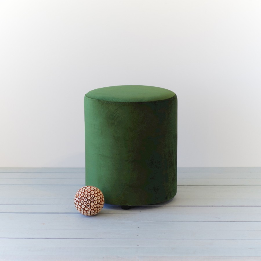 FOREST GREEN pouf
