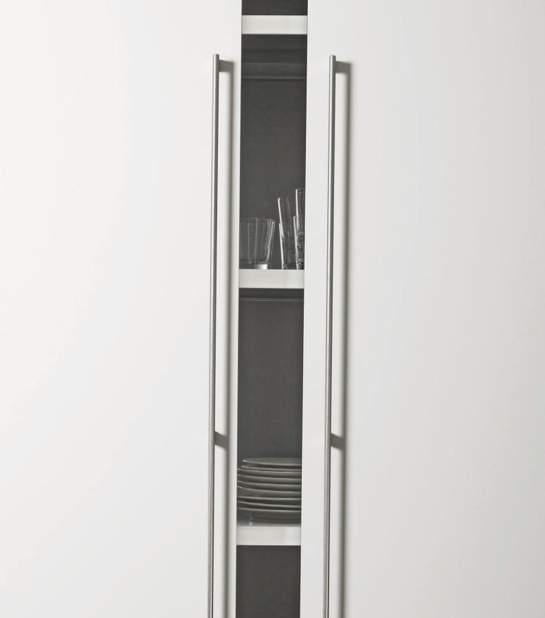 Handle Graf mini L -370242-2x589 rf look, chrome