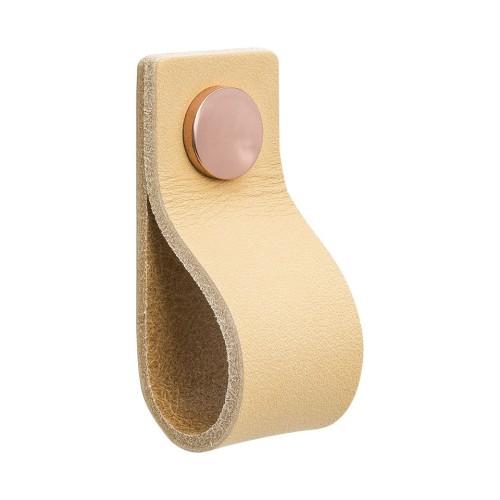Handle LOOP 333142-11 leather light
