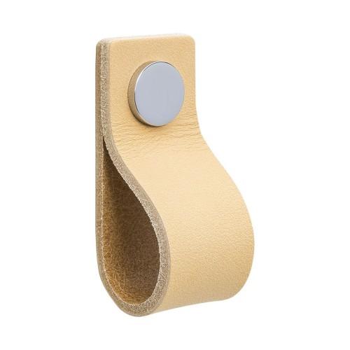 Handle LOOP 333143-11 leather light