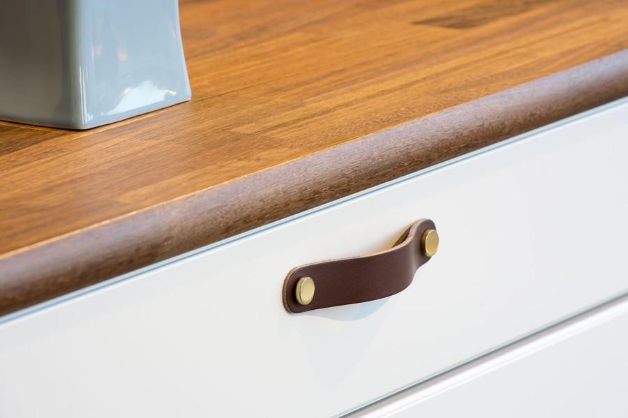 Handle LOOP-128 333271-11 leather brown