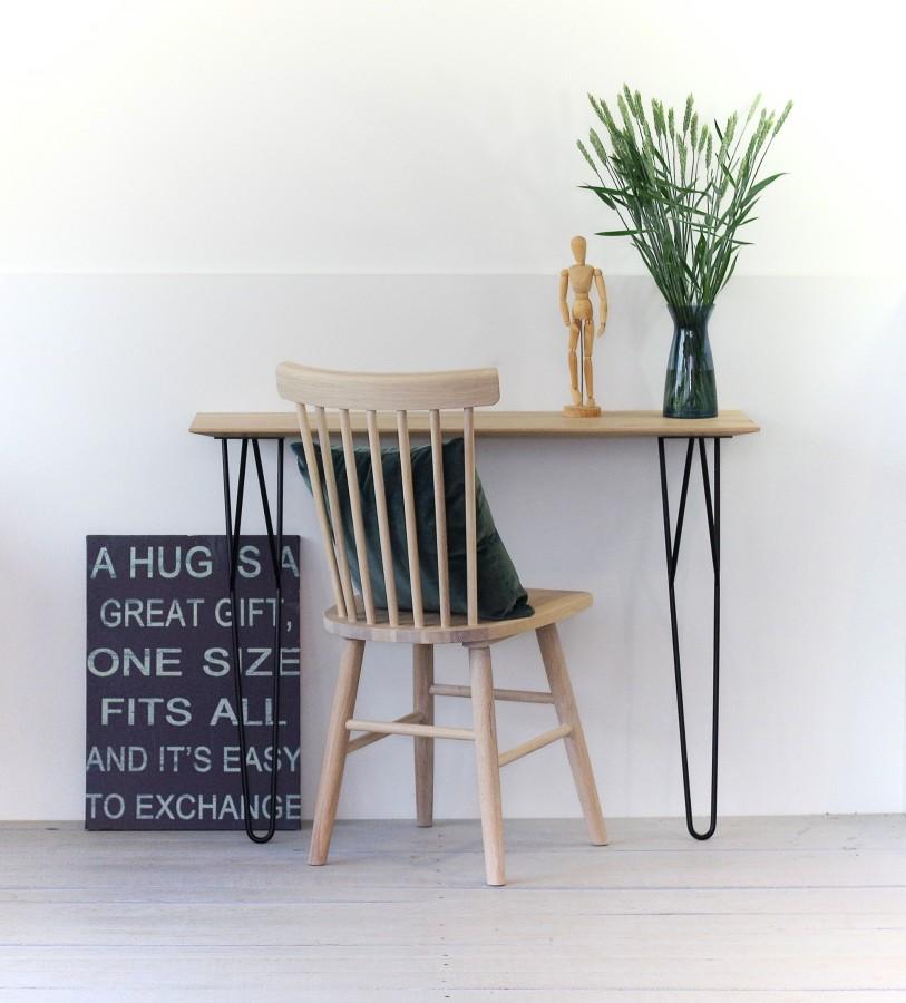 SCAND chair oak white oiled