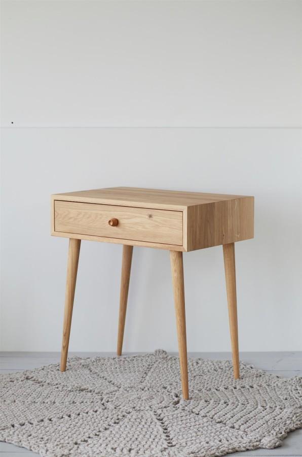 Oak makeup table, NO06-700EN
