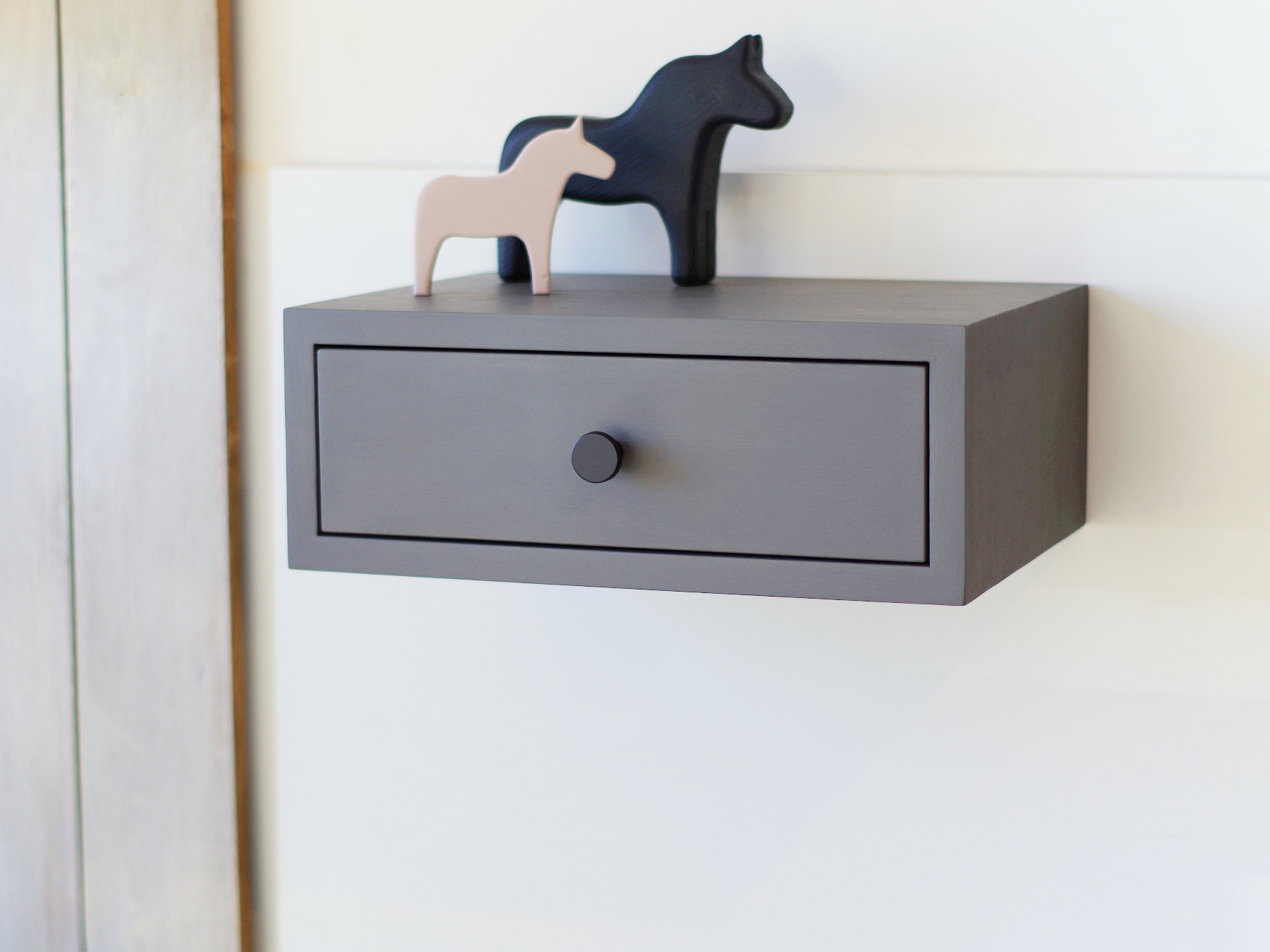 Floating Nightstand With Drawer Nord 07ep